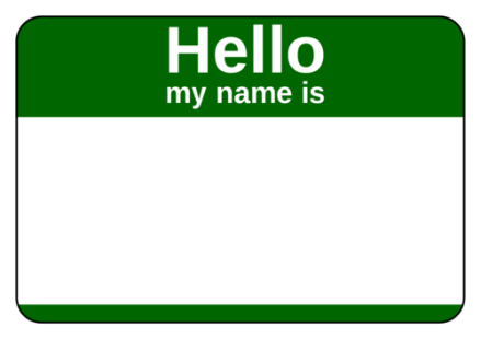 green-name-tag